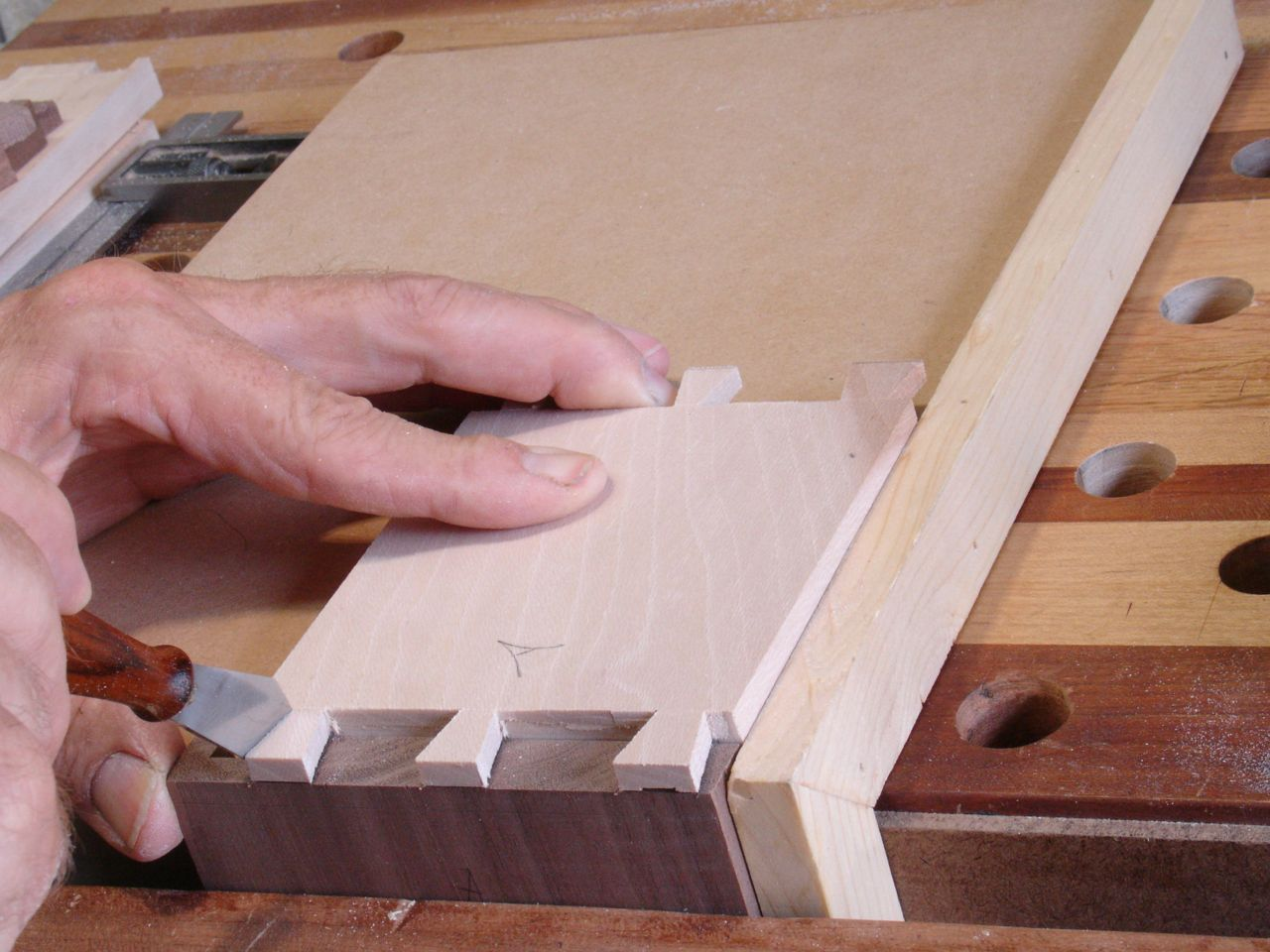 Hand Cut Dovetails — Part 2 | Woodworks by John
