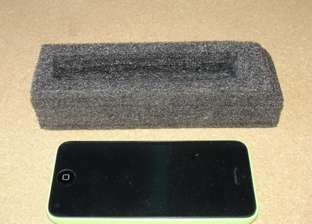Kaizen Foam with iPhone