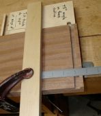 """Fence moved 1/4"""" to right. Recut with dovetail bit set at same depth with scrap piece."""