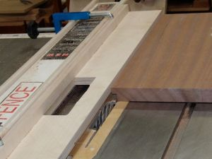 L-Shaped Fence for tablesaw