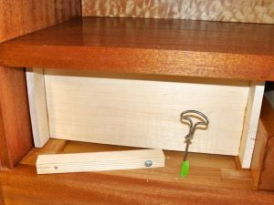 Installing drawer stop