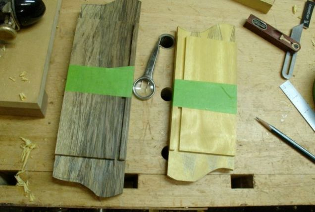 Rough cut to shape prior to cutting tails