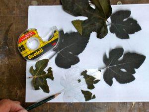 Fig Leaf Template