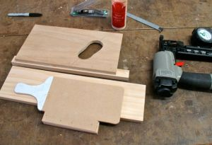 Templates for Boot and paddle ends
