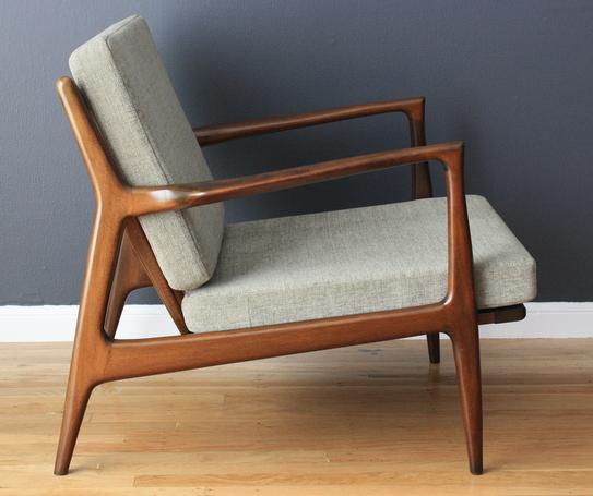 Refurbishing Danish Modern Selig Chairs Ottoman