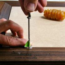 Gimlet to pre-drill for screws