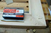Final sanding, my favorite sanding block!