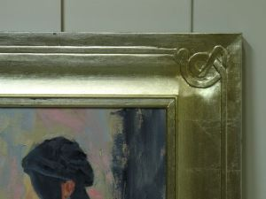 Corner Detail of Frame