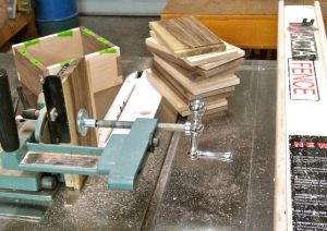Stanley 140 Technique with a tenoning jig