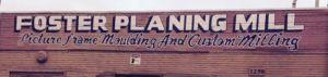 FosterPlaningMill Logo