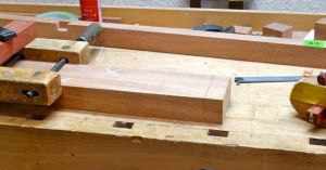 Lap Joint at end of Center Stile