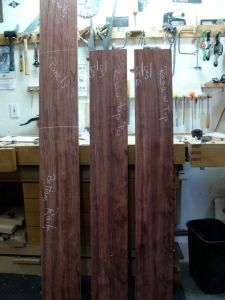 8/4 Bubinga ready to cut