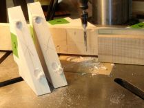 Pre-drilled and countersunk holes