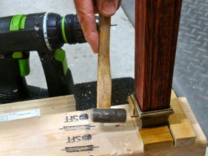 Installation of the Leg Tips