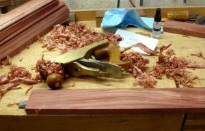 Smoothing tools for the Bubinga