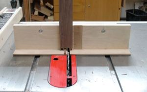 Finger Joint jig on Tablesaw