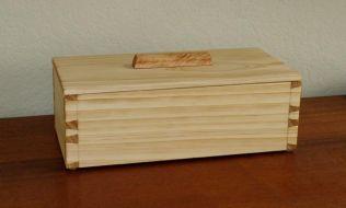 Pine Box 4 1/4 x 6 1/4 x 13