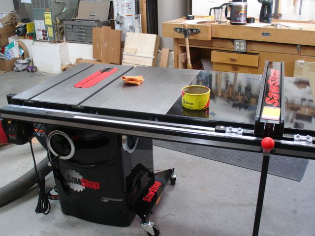 Sawstop Assembly Professional Cabinet Saw Model Woodworks By John