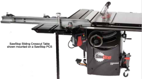SawStop with Sliding Table