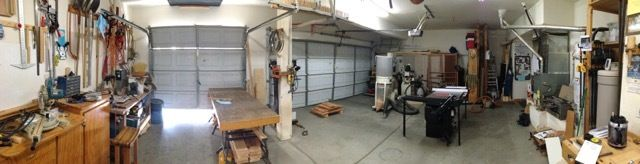 Panoramic Shot of the Shop in Chaos!