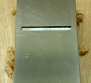 Radiused Block and Jack Plane Blade