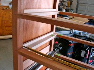 Drawer Runner Closeup