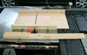 Mitered Box Jig for SawStop Sliding Table