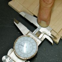 2.) Used to measure rabbet