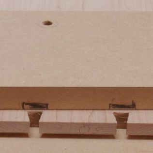 Tails located on MDF
