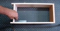 3.) Check dry fit for drawer