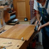 Fitting with Stanley Rabbet Plane