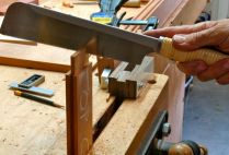Razor saw to size tenons