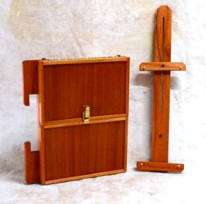 Easel and Palette Box