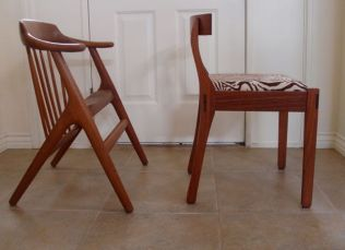Teak Chair vs. My Dining Chair