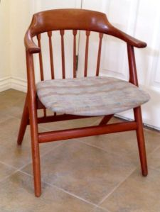 Teak Chair Repaired