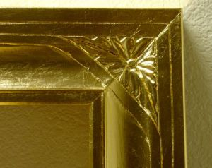 Close Up of Gilded Corner