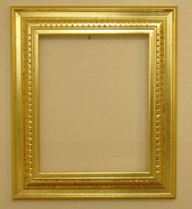 Freshly Gilded Frame: Waterleaf Carved