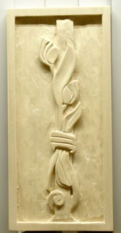 Tulip Carving on Basswood