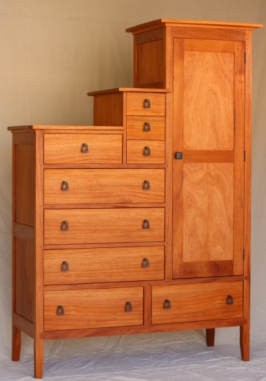Armoire: Genuine Mahogany