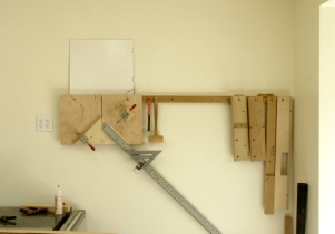 East Wall by Tablesaw
