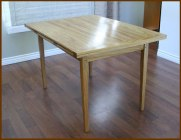 Dining Table: Canarywood