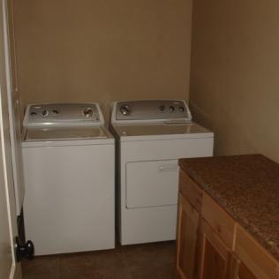 Laundry Area Now