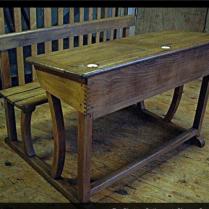 Antique Dutch School Desk