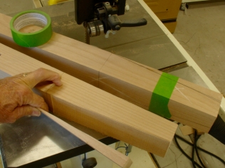 Bandsaw work