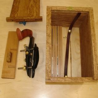 Blade storage revealed