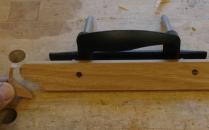Front cut with coping saw