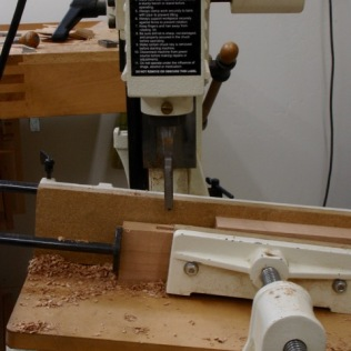 Cutting Angled Mortise