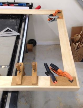 Gussets, glue, and clamps