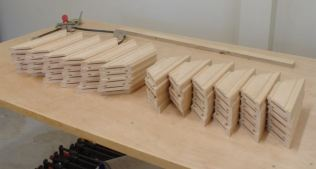 60 Frame Pieces for Assembly