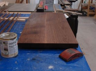 Top after one coat